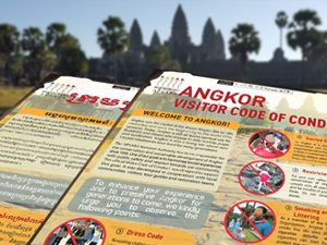 Code of conduct at Angkor Wat