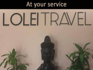 At your service Lolei Travel