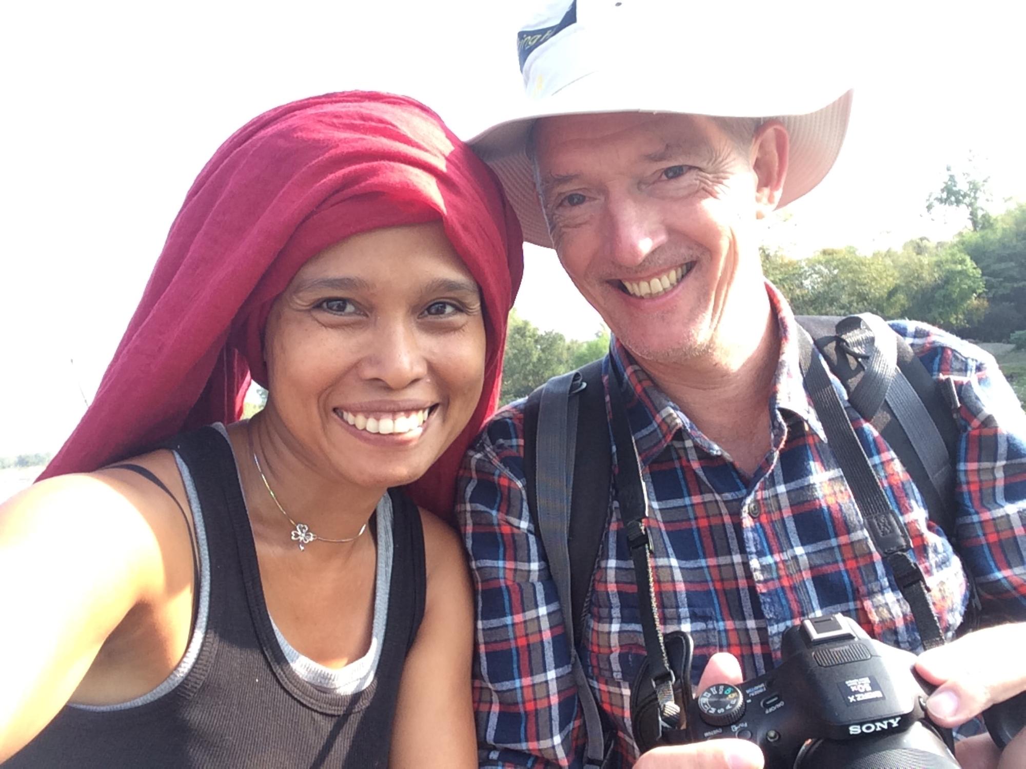 Mrs. Shwe Yee and Mr. Klaus-Dieter